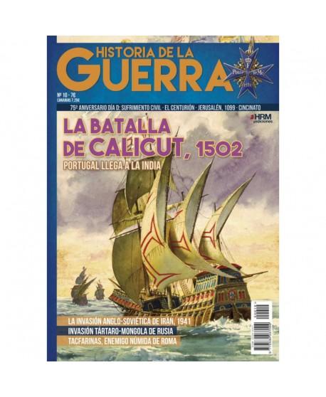 Historia de la Guerra nº 10: La batalla de Calicut, 1502.  Portugal llega a la India