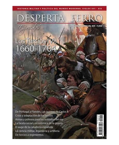 Los Tercios (VI). 1660-1704