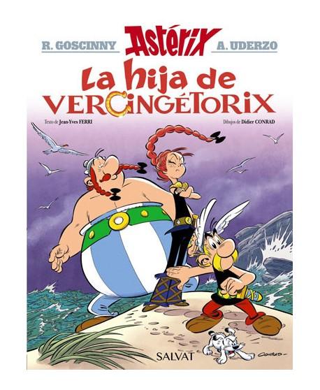 Asterix y la hija de Vercingetorix