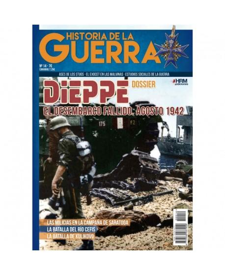 "Historia de la Guerra nº 14 ""Dieppe. El desembarco fallido. Agosto 1942""."