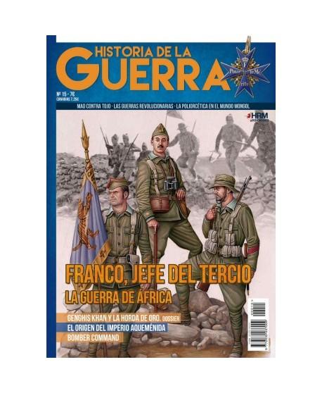 Historia de la Guerra nº 15: Franco, jefe del Tercio