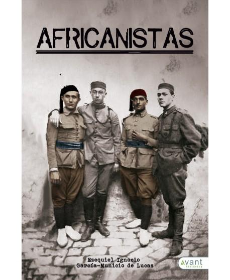 Africanistas, oficiales de tropas indígenas y del tercio en la Guerra de Marruecos