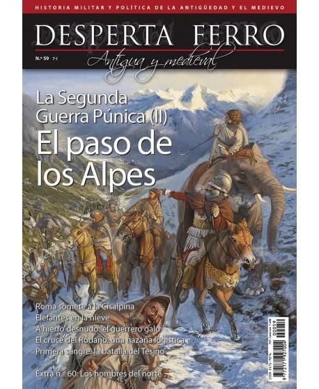 La Segunda Guerra Púnica (II). El paso de los Alpes