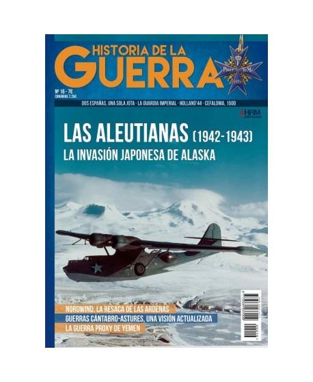Historia de la Guerra nº 16: Las Aleutianas (1942-1943)