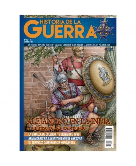 Historia de la Guerra nº 17: Alejandro en la India