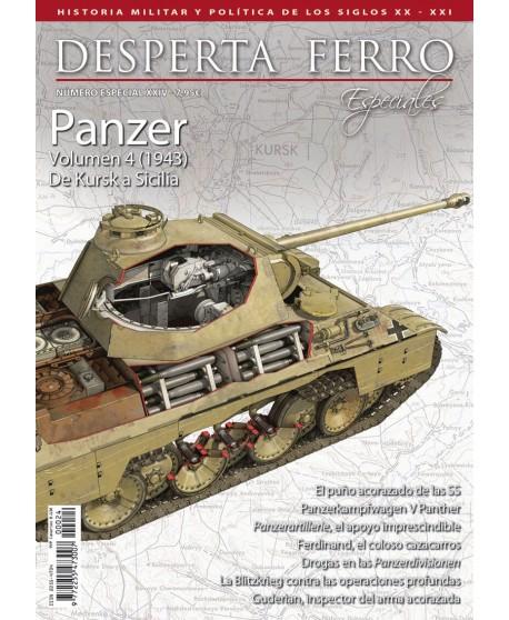 Panzer volumen 4 (1943) De Kursk a Sicilia