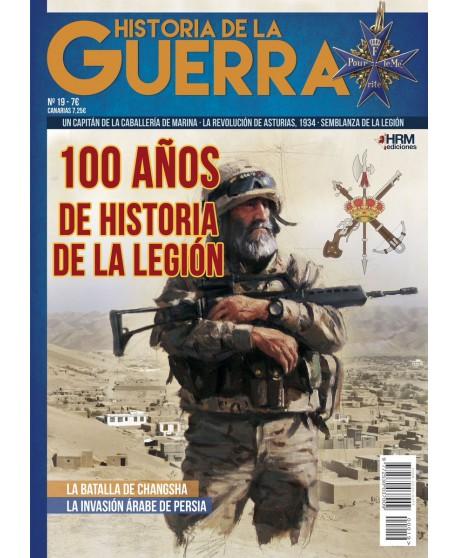 Historia de la Guerra nº 18 100 años de historia de La Legión