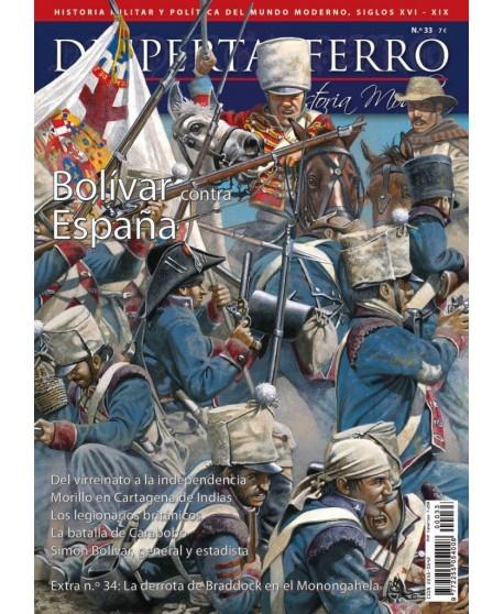 Bolívar contra España
