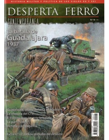 La batalla de Guadalajara 1937