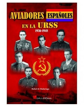 Aviadores españoles en la...