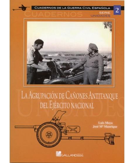 La agrupación de cañones antitanque del Ej. nacional
