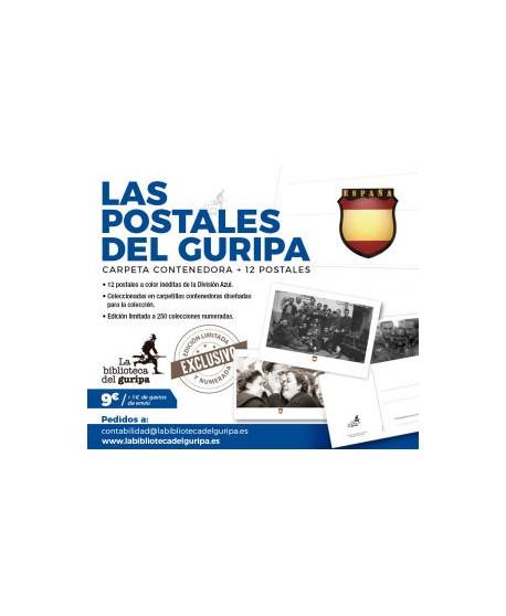Las postales del guripa 12 imágenes inéditas y en color de la Blau División