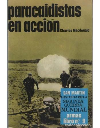 Paracaidistas en acción
