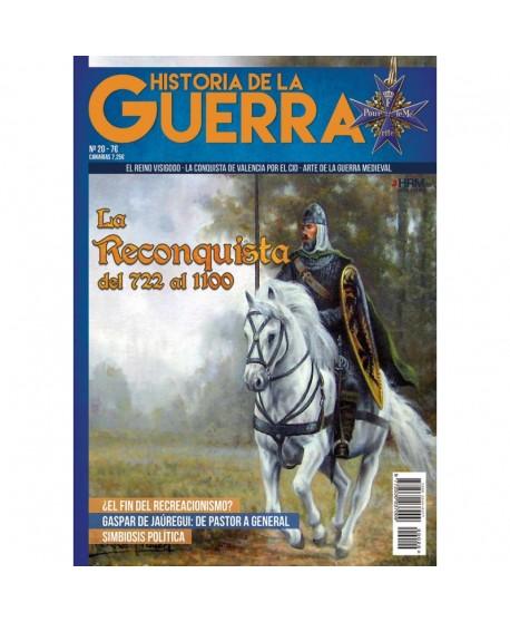 Historia de la Guerra nº 20 La Reconquista del 722 al 1100