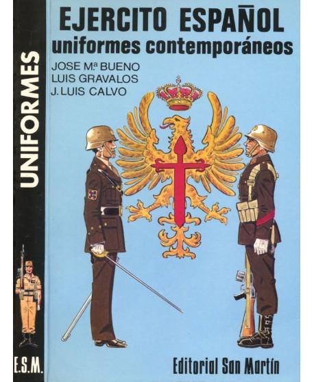 Ejército español uniformes contemporáneos