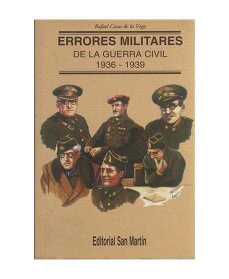 Errores Militares de la guerra Civil