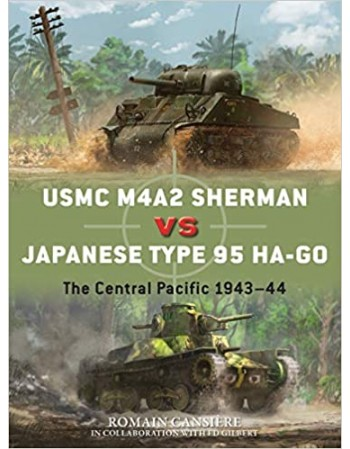 USMC M4A2 Sherman vs...