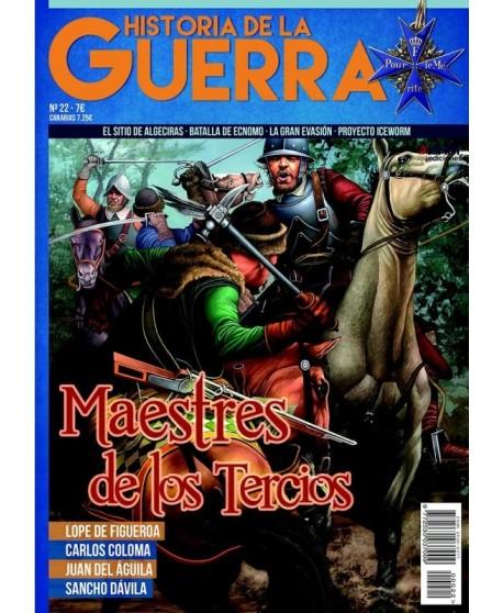 Historia de la Guerra nº 22 Maestres de los Tercios