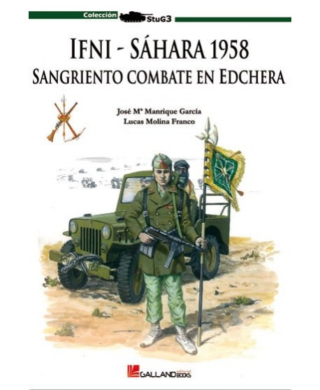 IFNI, Sahara 1958, sangriento combate en Edchera