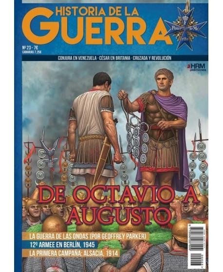 Historia de la Guerra nº 23 De Octavio a Augusto
