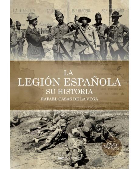 La Legión española. Su historia.