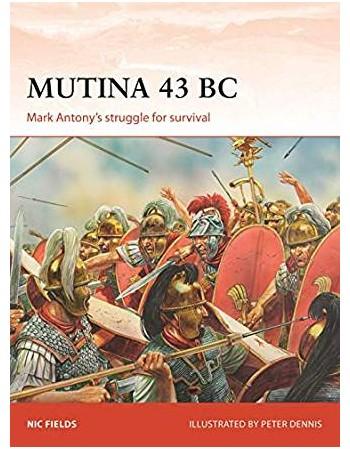 Mutina 43 BC MARK ANTONY'S...