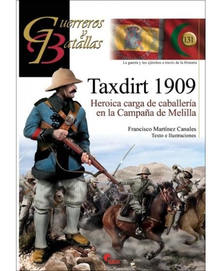 Taxdirt 1909. Heroica carga de caballería en la campaña de Melilla.